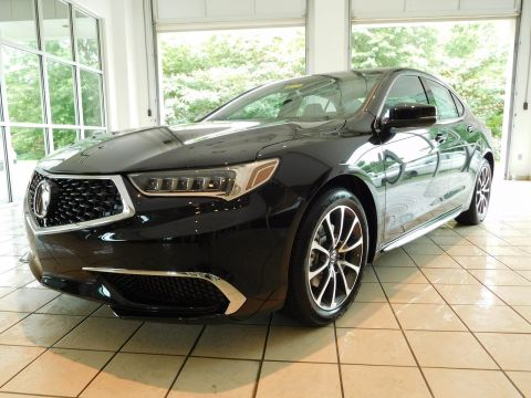New 2018 Acura TLX V6 w/Technology Pkg With Navigation & AWD