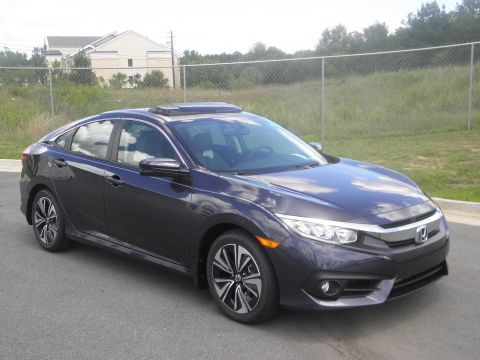 New 2017 Honda Civic Sedan EX-L