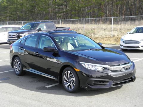 New 2017 Honda Civic EX FWD 4dr Car
