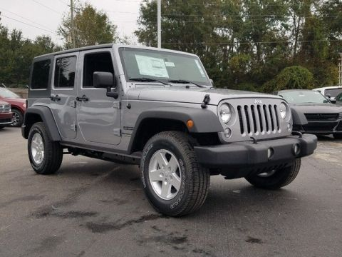 New 2018 Jeep Wrangler JK Unlimited Unlimited Sport S 4WD