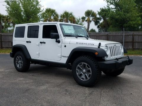 New 2017 Jeep Wrangler Unlimited Rubicon 4WD