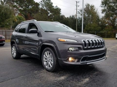 New 2018 Jeep Cherokee Overland With Navigation