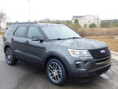 New 2018 Ford Explorer Sport With Navigation & 4WD
