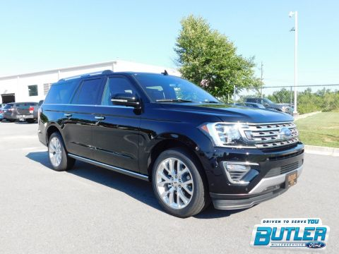 New 2018 Ford Expedition Max Limited With Navigation