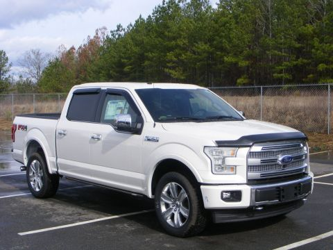 New 2017 Ford F-150 Platinum With Navigation & 4WD