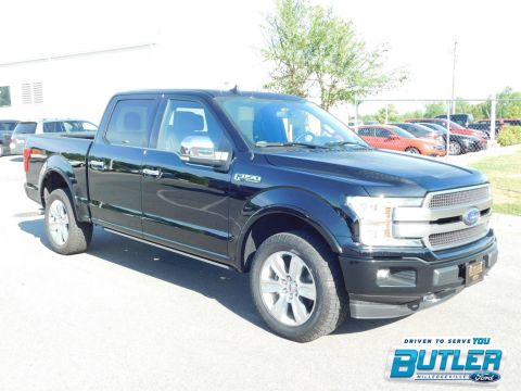 New 2018 Ford F-150 Platinum With Navigation & 4WD