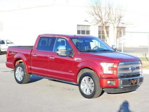 Pre-Owned 2015 Ford F-150 Platinum 4WD