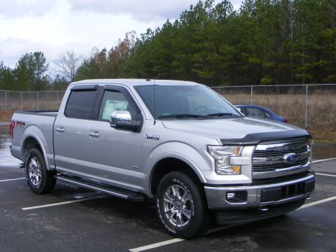 New 2017 Ford F-150 Lariat With Navigation & 4WD