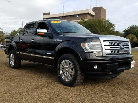 Pre-Owned 2014 Ford F-150 Platinum With Navigation & 4WD