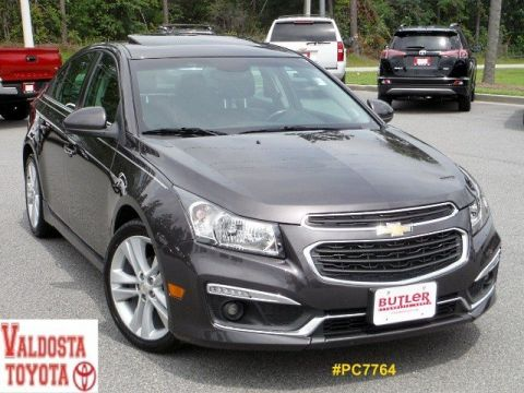 Pre-Owned 2015 Chevrolet Cruze LTZ w/RS Package