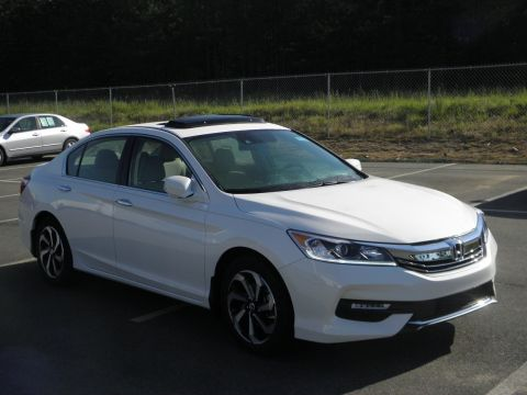New 2017 Honda Accord EX-L With Navigation