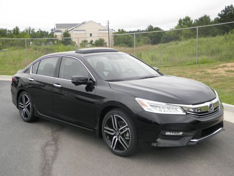 New 2017 Honda Accord Touring With Navigation