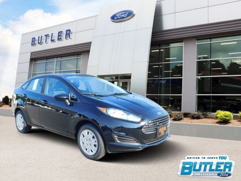 New 2018 Ford Fiesta S FWD 4dr Car
