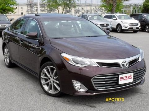 Certified Pre-Owned 2015 Toyota Avalon XLE Touring With Navigation