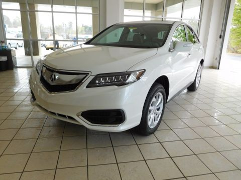 New 2018 Acura RDX w/Technology/AcuraWatch Plus Pkg With Navigation & AWD
