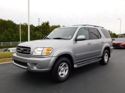 Pre-Owned 2002 Toyota Sequoia SR5