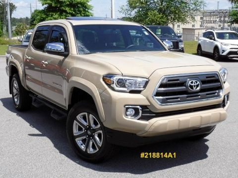 Certified Pre-Owned 2017 Toyota Tacoma Limited Double Cab