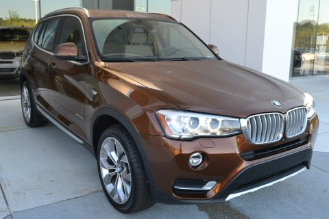 Certified Pre-Owned 2017 BMW X3 xDrive35i AWD