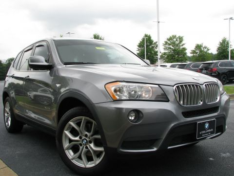 Certified Pre-Owned 2013 BMW X3 xDrive28i AWD