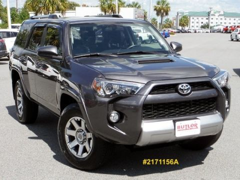 Certified Pre-Owned 2015 Toyota 4Runner Trail 4WD 4WD