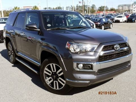 Certified Pre-Owned 2016 Toyota 4Runner Limited 4WD 4WD