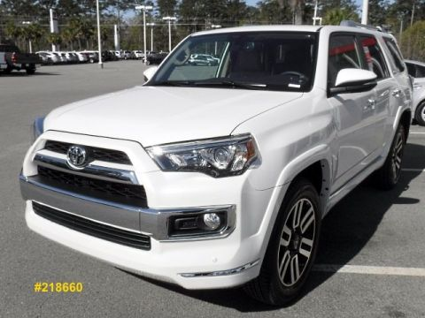 New 2018 Toyota 4Runner Limited 4WD 4WD