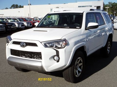 New 2018 Toyota 4Runner TRD Off Road 4WD 4WD