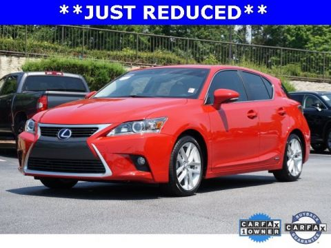 Certified Pre-Owned 2015 Lexus CT 200h Hybrid