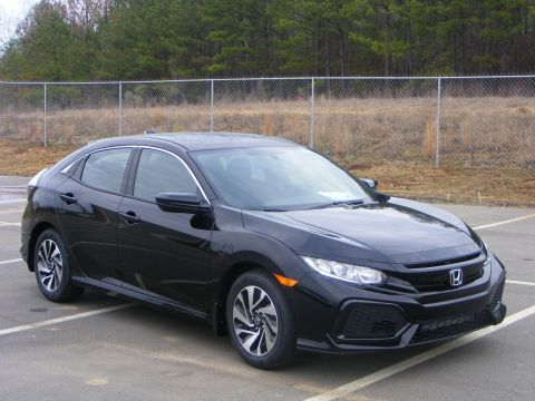 New 2017 Honda Civic Hatchback LX FWD Hatchback