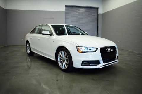 Certified Pre-Owned 2016 Audi A4 Premium FWD 4dr Car