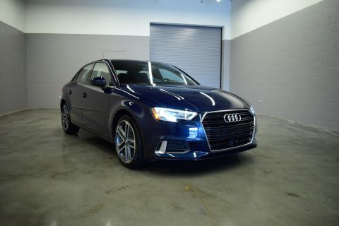 Certified Pre-Owned 2018 Audi A3 Sedan Premium FWD 4dr Car