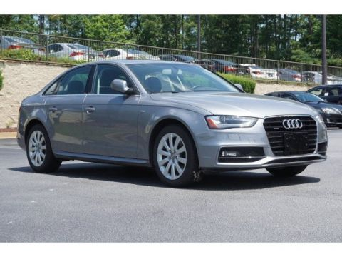 Certified Pre-Owned 2015 Audi A4 Premium AWD