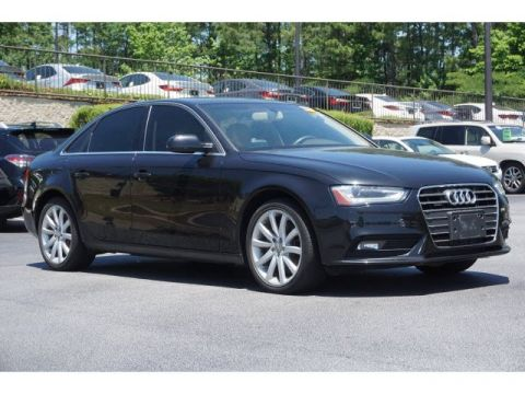 Certified Pre-Owned 2013 Audi A4 Premium Plus AWD