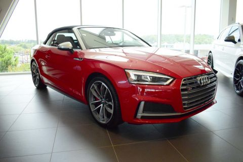 New 2018 Audi S5 Cabriolet Premium Plus AWD
