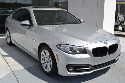 Pre-Owned 2015 BMW 5 Series 528i With Navigation