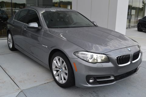 Certified Pre-Owned 2016 BMW 5 Series 535i With Navigation