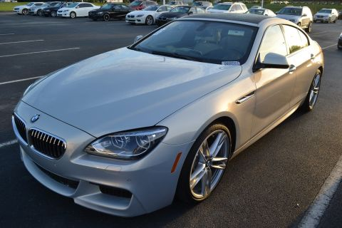 Certified Pre-Owned 2015 BMW 6 Series 640i With Navigation