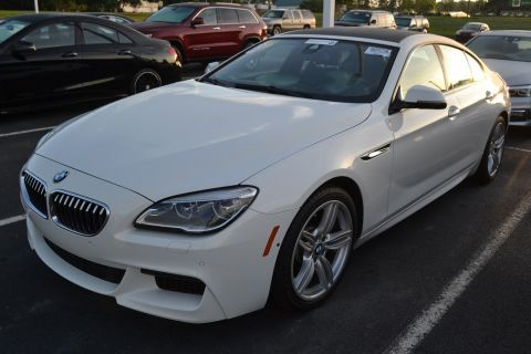 Certified Pre-Owned 2016 BMW 6 Series 640i xDrive With Navigation & AWD