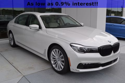 New 2018 BMW 7 Series 740i With Navigation
