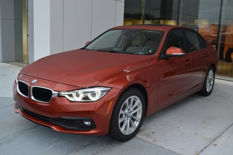 Certified Pre-Owned 2018 BMW 3 Series 320i RWD 4dr Car