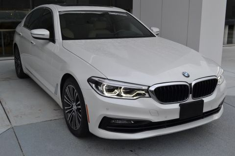 Certified Pre-Owned 2017 BMW 5 Series 540i With Navigation