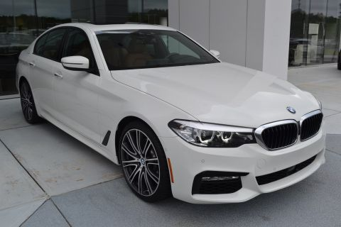 Certified Pre-Owned 2018 BMW 5 Series 540i With Navigation