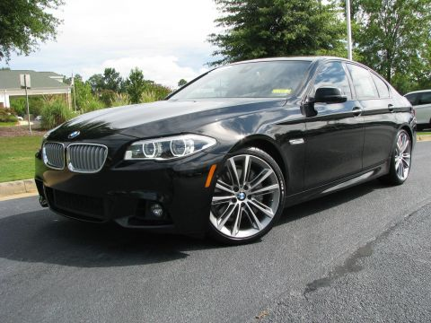 Certified Pre-Owned 2015 BMW 5 Series 550i With Navigation