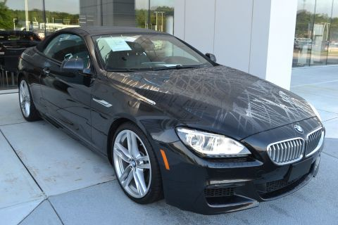 Certified Pre-Owned 2015 BMW 6 Series 650i With Navigation