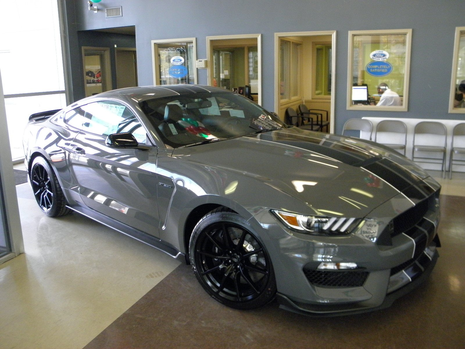 Mustang shelby gt350 2018