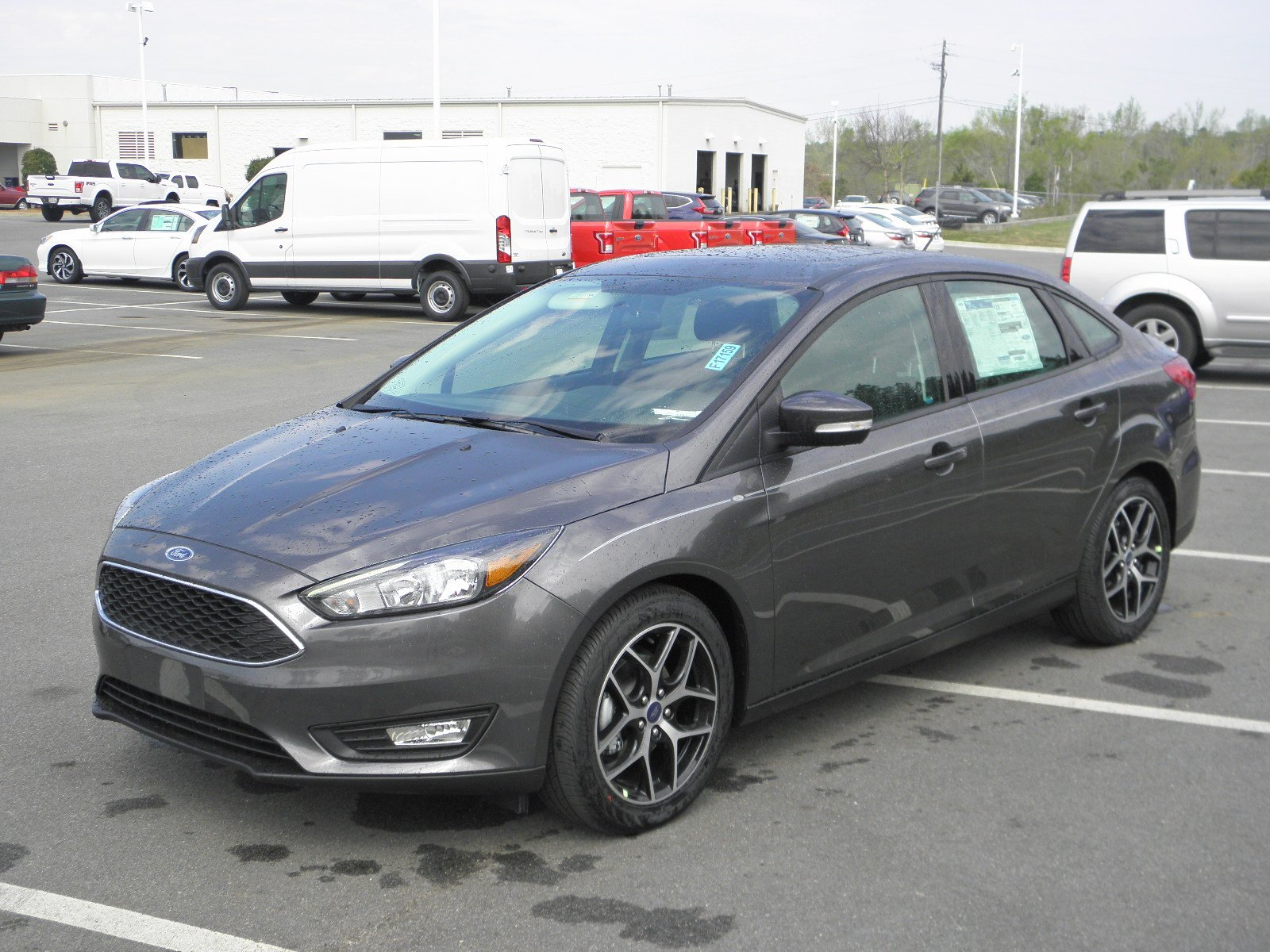 new 2017 ford focus sel 4dr car in milledgeville f17159. Black Bedroom Furniture Sets. Home Design Ideas