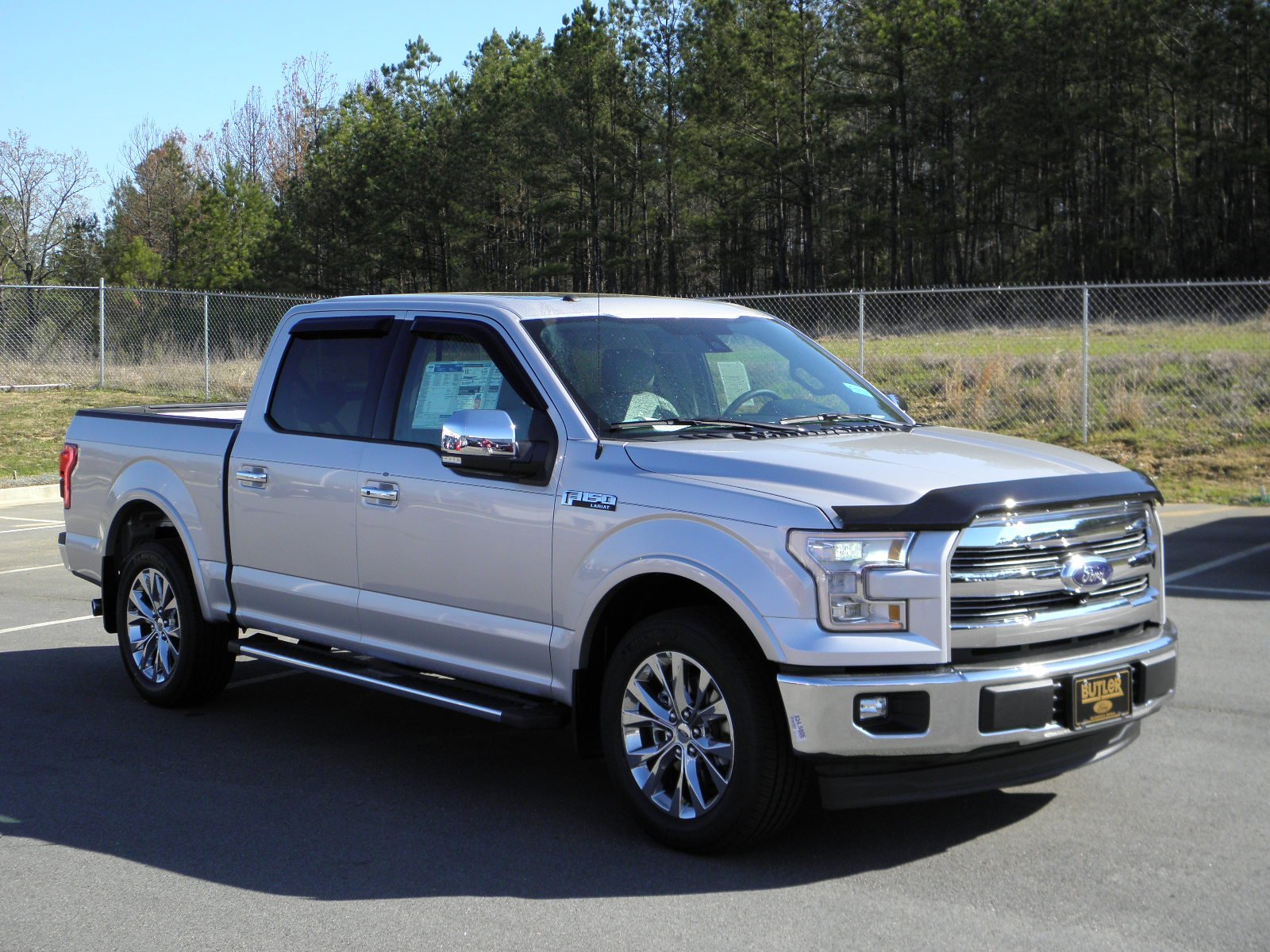 new 2017 ford f 150 lariat crew cab pickup in milledgeville f17137 butler auto group. Black Bedroom Furniture Sets. Home Design Ideas