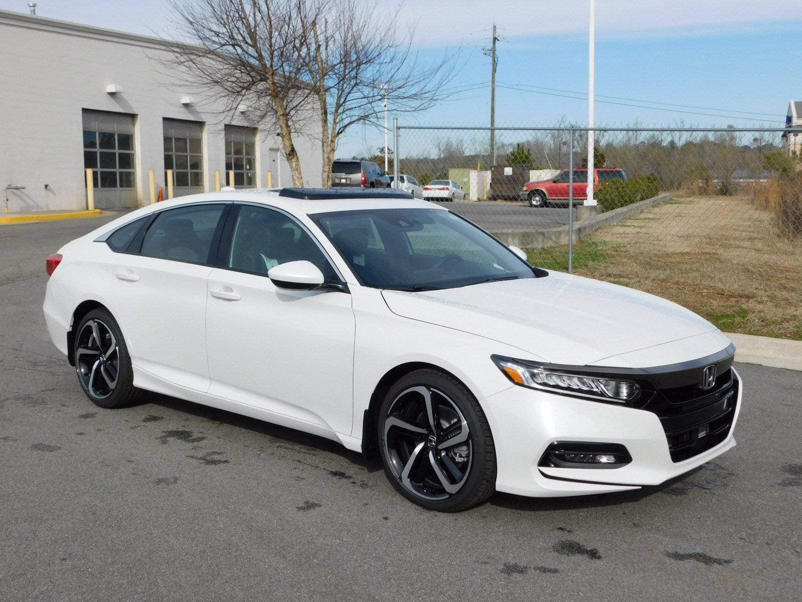 New 2018 Honda Accord Sport 2 0t 4dr Car In Milledgeville