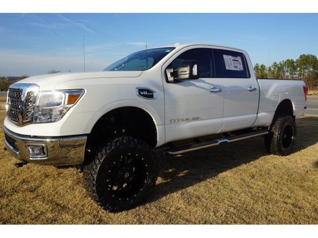 new 2017 nissan titan xd 4wd w 6 inch lift special wheels. Black Bedroom Furniture Sets. Home Design Ideas