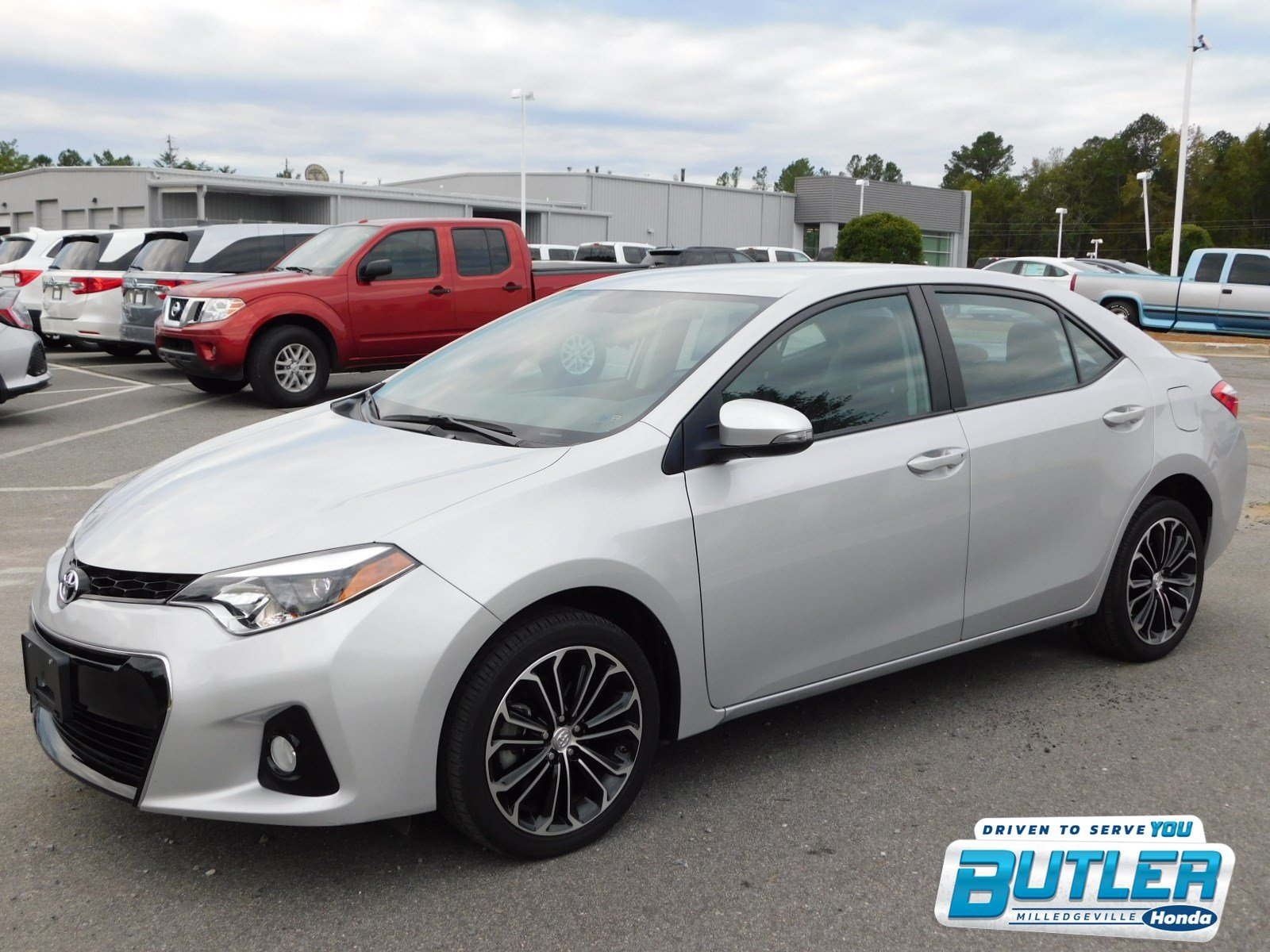 Pre Owned 2016 Toyota Corolla S Plus 4dr Car in Milledgeville